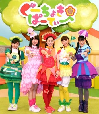 ももクロ子供向け番組で百田夏菜子「おでこでお日様を」玉井詩織「年を感じる」