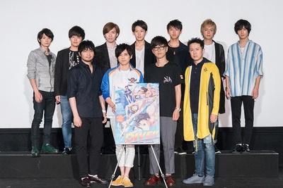 アニメ「DIVE!!」先行上映イベントで梶裕貴がVRダイブ体験