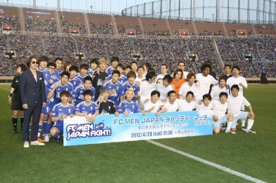 JUNSUがロスタイムに劇的な勝ち越しゴール! 「東日本大震災復興支援チャリティーマッチ」でFC MENが勝利!!