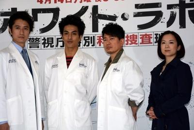 """""""気持ちがいい!""""薮宏太が「ホワイト・ラボ」の総額約4億円のセットに大興奮!!"""
