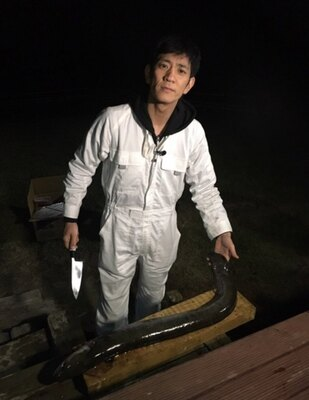 アンタ柴田が世界最大級の巨大ウナギ釣りに挑む!