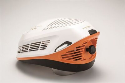 【写真を見る】「HairRepro LED Premium」サイドのイメージ(パープルホワイト)
