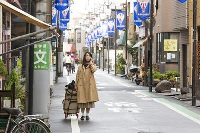 「千住いろは通り商店会」でも多くのシーンを撮影