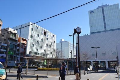 大学や私立の中学・高校がある北千住駅の東口