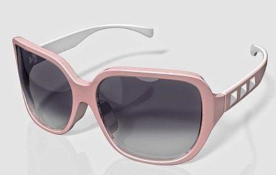 ハードテイストなフレームとキュートなカラーリングが魅力のサングラスもオシャレ【そのほか商品画像】