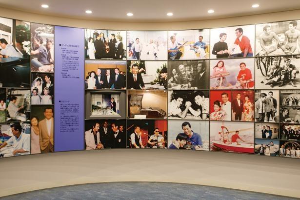 加山氏の誕生から今日までを映像と写真でつづるウェルカムギャラリー / 加山雄三ミュージアム