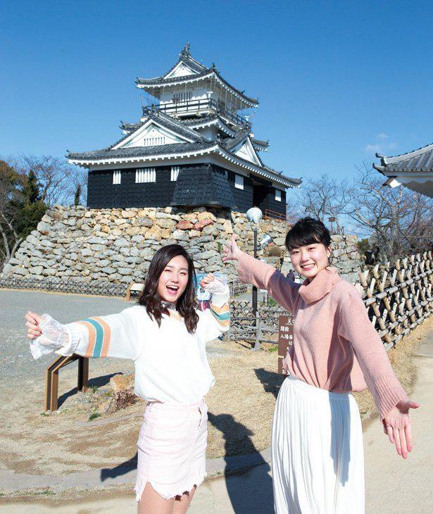 """""""出世城""""の異名を持つ浜松城は、築城されて今年で何と450年 / 浜松城"""