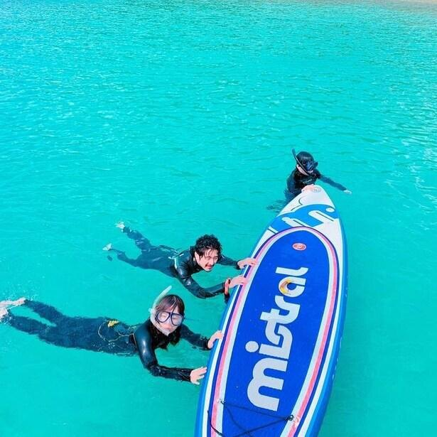 あたたかいコメントと共に投稿された、加計呂麻島の美しい海