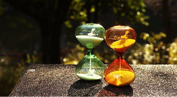 かわいすぎる砂時計「アワーグラス」(3190円)で癒やしの時間を!砂が落ちる時間は15分