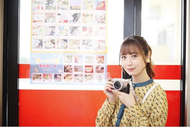 「『ラーメン福』のフォトコンテストがあったんだ。私もちゅりカメラで撮って応募したかったな」