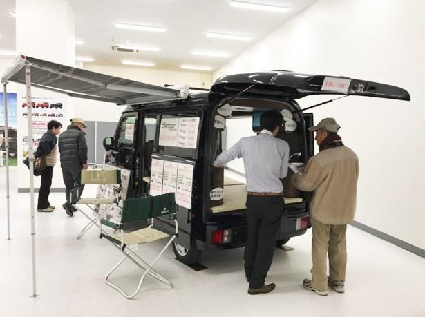 展示イベントでは実車を見られる