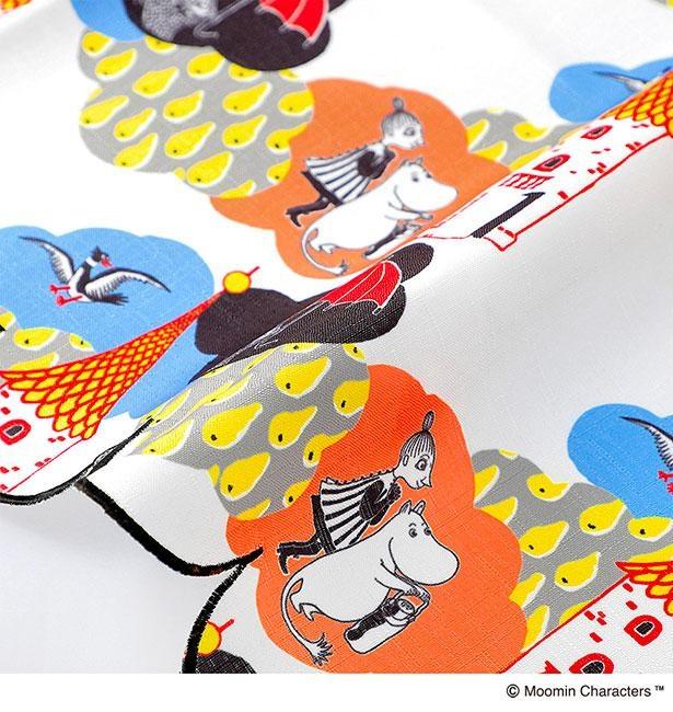 「KUMO」はムーミンの絵本イラストを使用したポップなデザイン