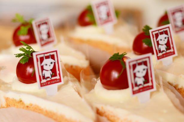 【写真】新作の「トマト&バジルケーキ」は必食