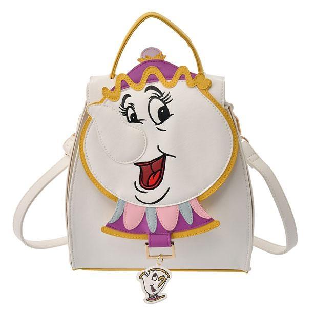【写真】二度見してしまいそうなインパクト大のポット夫人のバッグ