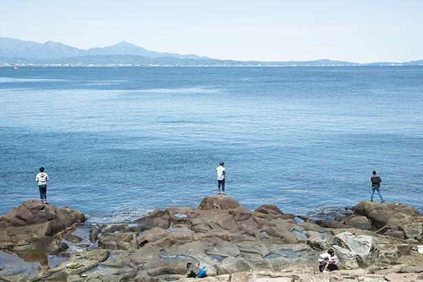 広大な海を一望できる琴ヶ浜