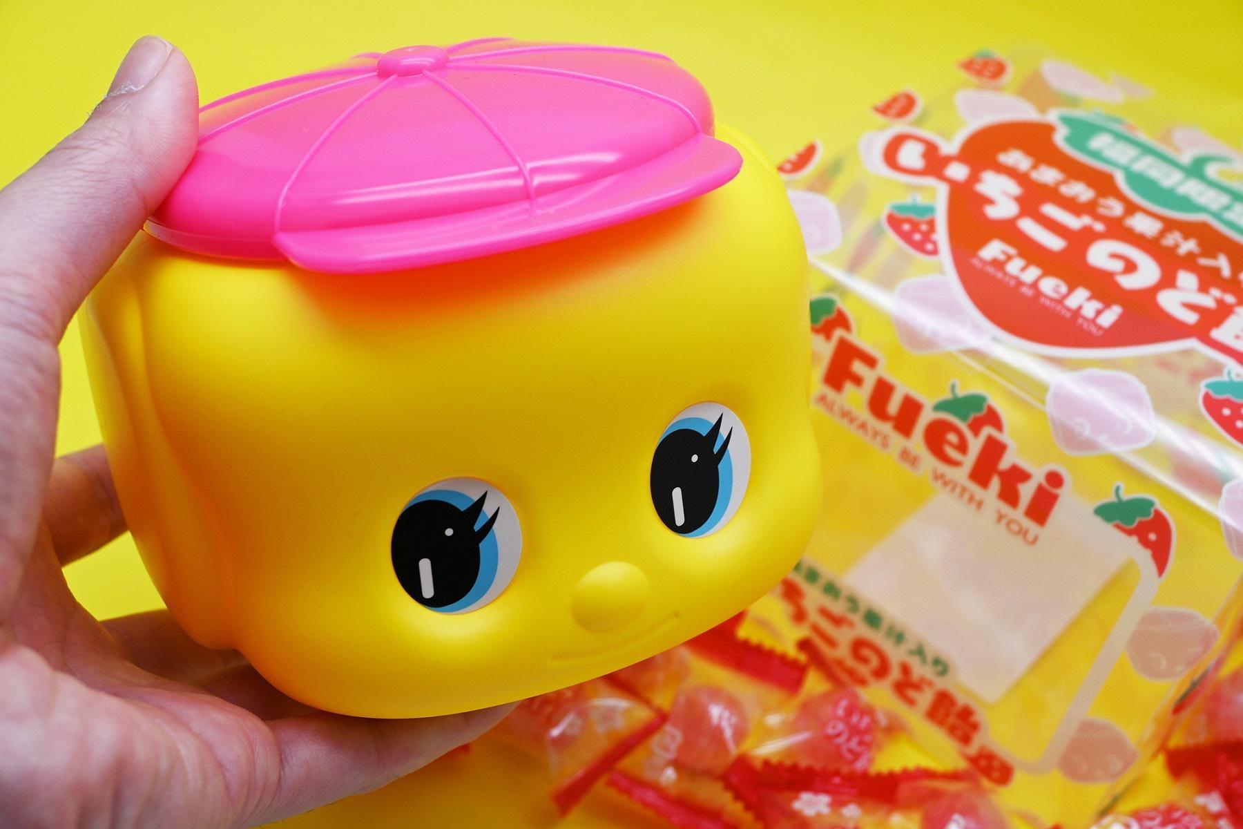 外出自粛を応援!期間限定でピンク帽子の福岡限定フエキくんがWEB通販で買える