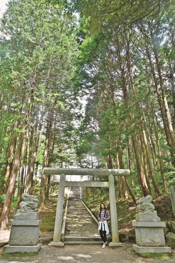 元伊勢 籠神社の奥宮・真名井神社