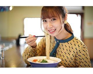 ラーメン×グラビア!?SKE48を卒業直前の高柳明音が、行列店「らぁ麺 紫陽花」の清湯系ラーメンをラストふぅふぅ♡