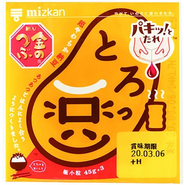 金のつぶ パキッ!とたれ とろっ豆(ミツカン、¥188/45g×3 176kcal/可食部100g当たり)