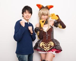 人気実況者の茸(たけ)さんに、コスプレイヤーの礼奈るみさんが突撃取材!