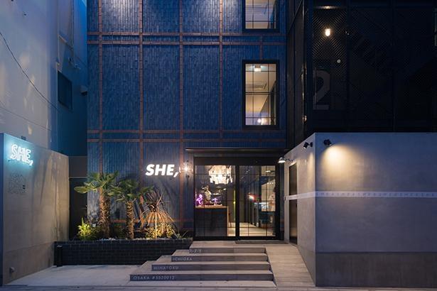 大阪・弁天町の「HOTEL SHE,OSAKA」