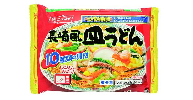 ニッスイ わが家の麺自慢 長崎風皿うどん(日本水産、オープン価格/380g 524kcal)