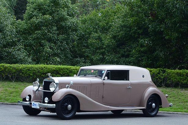 日本の自動車産業の夜明けを象徴する1台である「イスパノスイザK6」