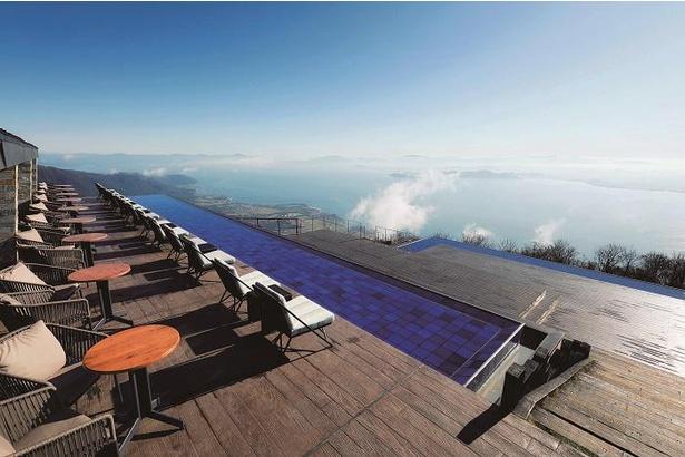 琵琶湖の絶景をカフェ&スイーツと一緒に楽しめる、びわ湖テラス THE MAIN