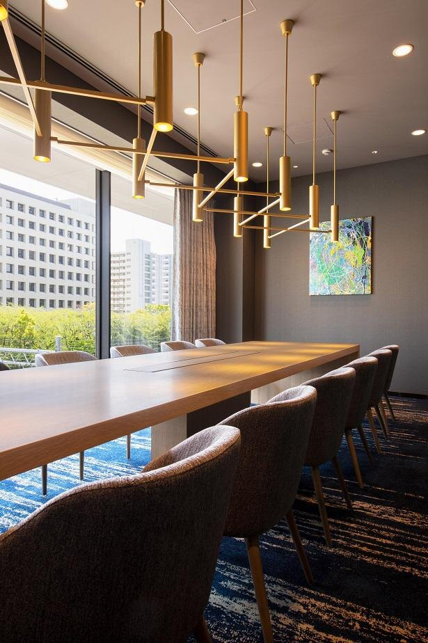 打ち合わせや会議にも最適なミーティングルーム