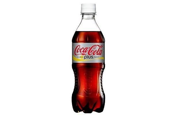 「コカ・コーラ プラス」シリーズの第1弾、前回の「ノーカロリー コカ・コーラ プラスビタミン」