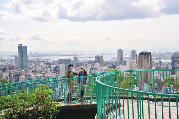 公園へは元町駅から徒歩25~30分ほどかかる