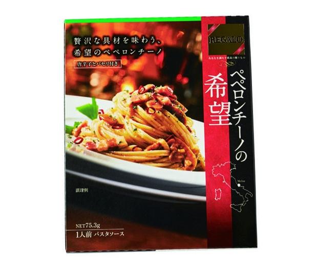 REGALO ぺペロンチーノの希望(日本製粉、¥250/75.3g 177kcal)