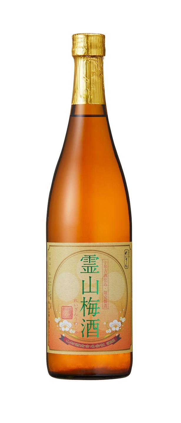 霊山梅酒(720ml 1980円・税込)/山村酒造