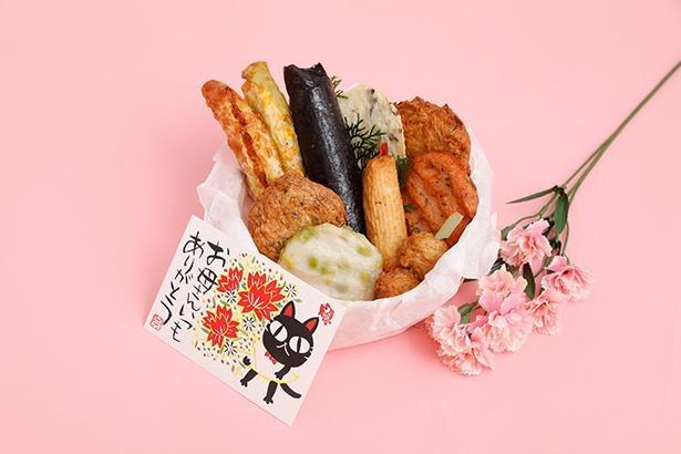 「竹かごセット」は9個入りの「撫子(なでしこ)」と、10個入りの「紫陽花(あじさい)」を用意