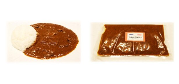 フレンチ仕立ての「特製スパイスカレー」(1600円・税込) / フランス料理 サンテミリオン