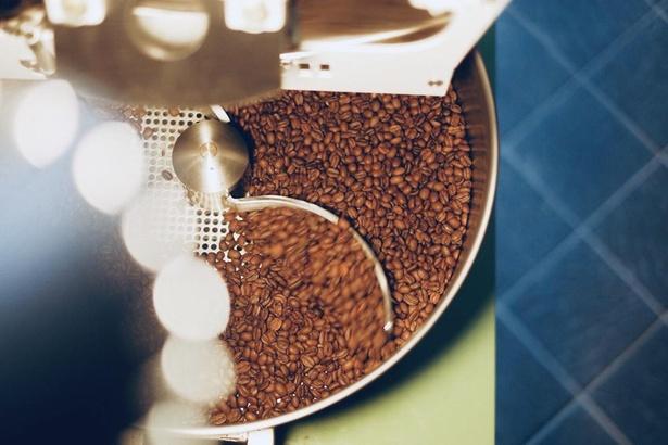 焙煎機は九州でも珍しいディードリッヒ社のものを使用