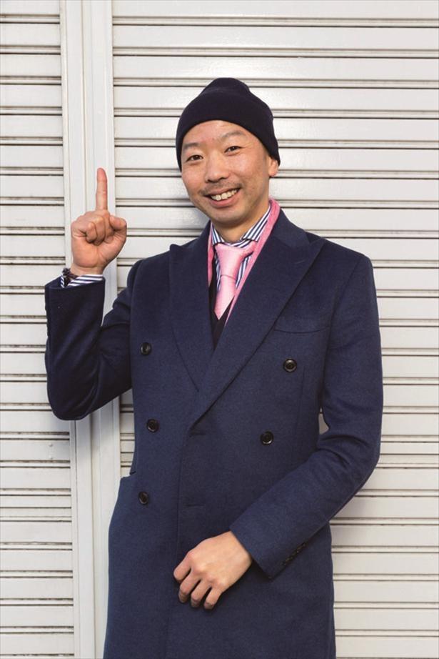 【写真】住民代表の赤坂和昭さん。八王子の老舗「肉と氷のあかさか」の専務で、八王子近辺のさまざまな飲食店に肉を卸している。かつては競技自転車の選手で、現在は趣味で休日にロードバイクを走らせている。生粋の八王子人
