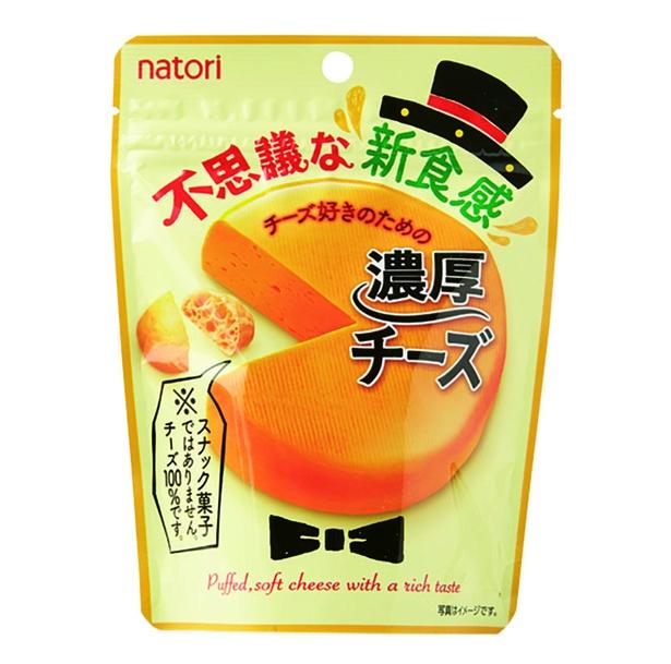 濃厚チーズ(なとり、¥130/21g 105kcal/1袋当たり)