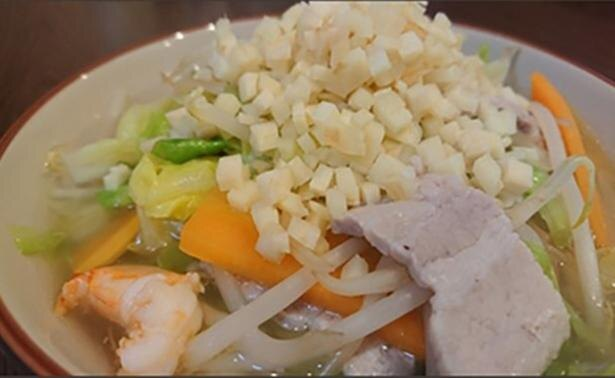 「野菜たっぷり生姜タンメン」