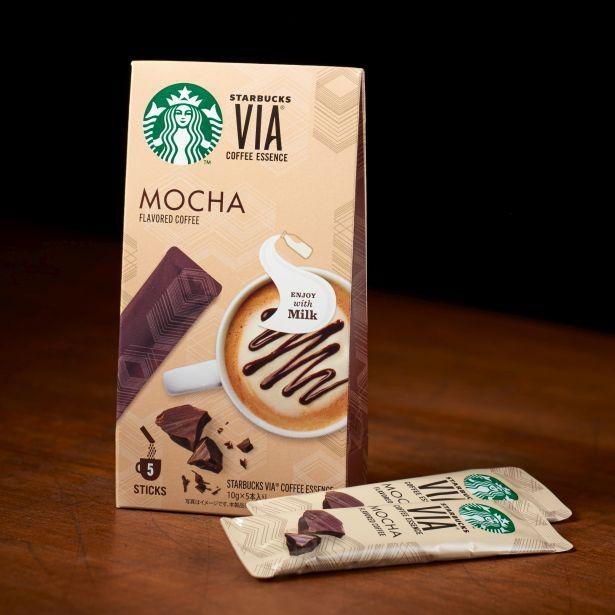 チョコレート マキアートに使用する「スターバックスヴィア モカ」