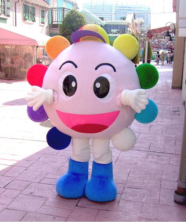 よこはまコスモワールドのオリジナルキャラクター、コスモくん