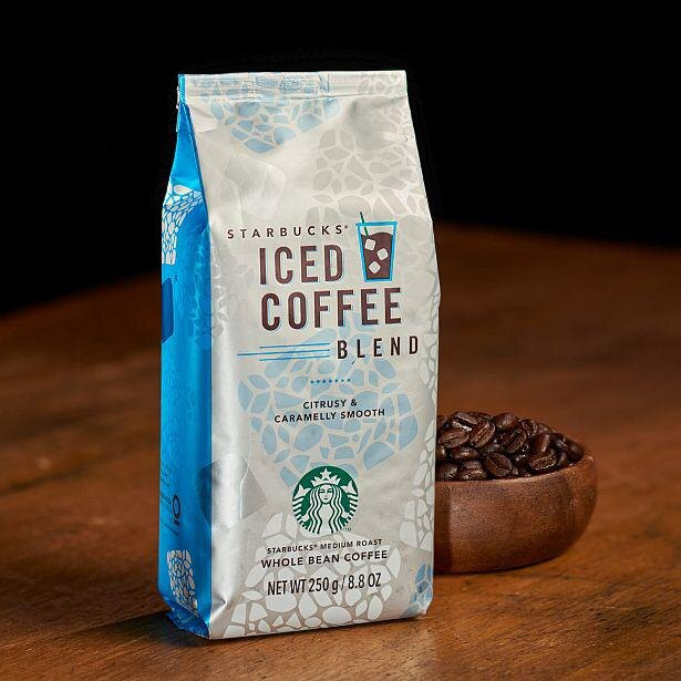 基本のアイスコーヒーに使用した「スターバックス アイスコーヒー ブレンド」