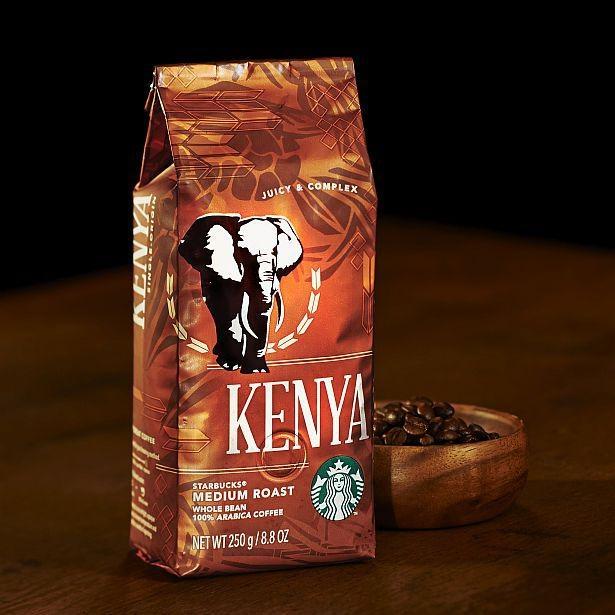 「アイスコーヒー with オレンジ」に使用した「ケニア」