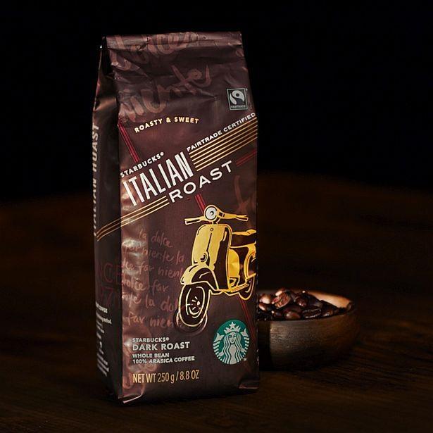「アイス ウインナー コーヒー」に使用した「フェアトレード イタリアン ロースト」
