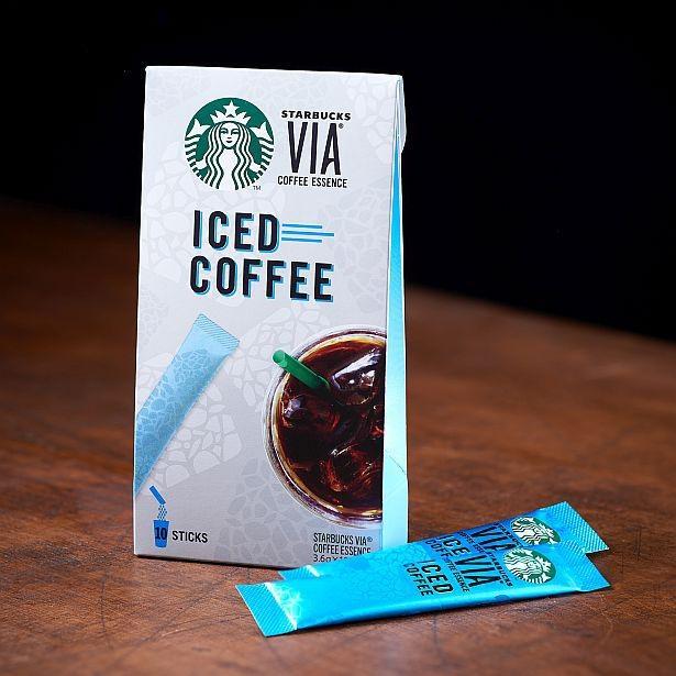 手軽に本格的なアイスコーヒーが楽しめる「スターバックスヴィア アイスコーヒー」