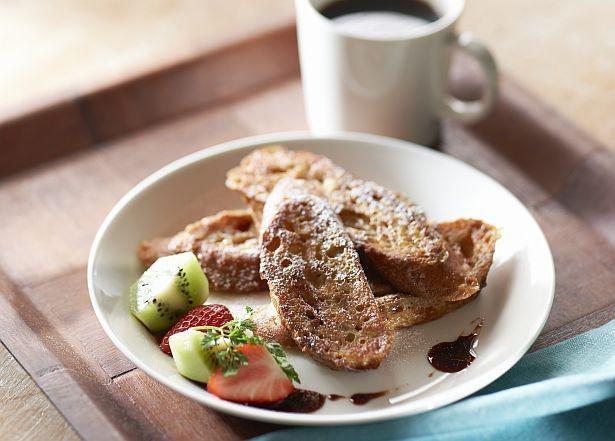 「フレンチトースト」もコーヒー風味でバージョンアップ