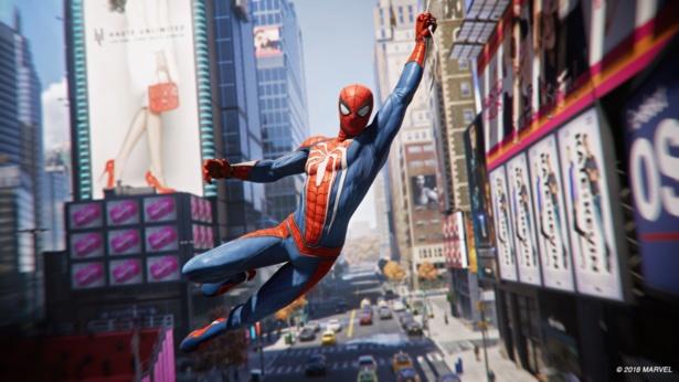 ニューヨークの街並みを飛び回る爽快感は必見