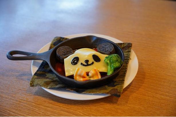 Jamboの「煮込みパンダハンバーグ」(1850円)