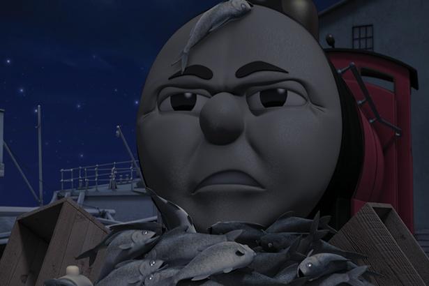 【写真】怖い話をしていたトーマスたち…。結末はいったい?