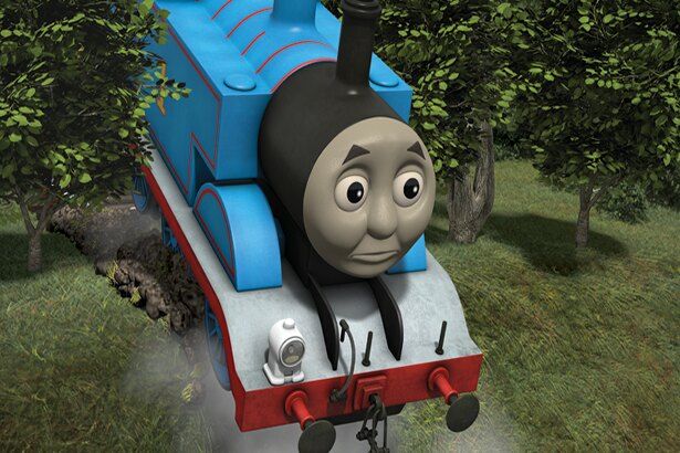 近道を使おうとしたトーマス。うまくいくかな?